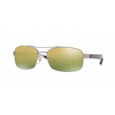 Ray-Ban RB8318CH 004/6O GUNMETAL GREEN MIR GOLD GRADIENT POLAR napszemüveg