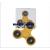 PRC Fidget Spinner pörgettyű - sárga