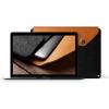 "Mujjo MacBook 12"" Sleeve barna-fekete"