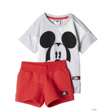 Adidas PERFORMANCE Kamasz lány Rövid ujjú T Shirt LG DY TM SU SET LGREYH/BLACK
