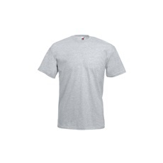 póló szürke kereknyakú 100% pamut (M)