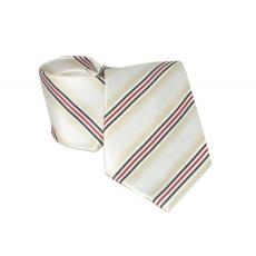 Goldenland nyakkendõ - Drapp-piros csíkos