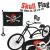 Kalózzászló kerékpárra