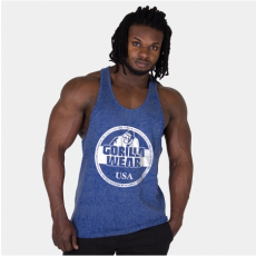 MILL VALLEY TANK TOP - ROYAL BLUE/SILVER (ROYAL BLUE) [M]
