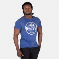 ROCKLIN T-SHIRT - ROYAL BLUE/SILVER (ROYAL BLUE) [L]