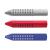 Faber-Castell Radír FABER-CASTELL Grip 2001 kék/piros 187101 szürke 187100