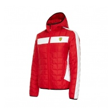 Branded Ferrari női kabát Packable red F1 Team 2016 - XS