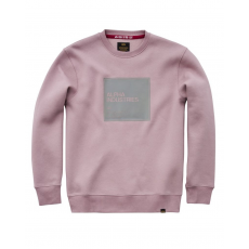 Alpha Industries Label Sweater - silverpink
