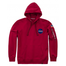 Alpha Industries Space Shuttle Hoody - speed red