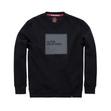Alpha Industries Label Sweater - fekete