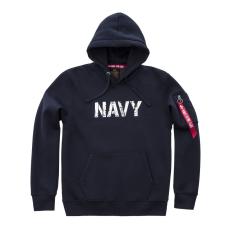 Alpha Indsutries Army Navy Hoody - replica blue