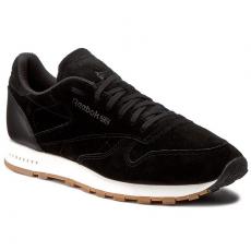 Reebok Cipők Reebok - Cl Leather Sg BS7892 Black/Chalk Gum