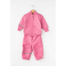 CeLaVi Kids Pink Quilted Jacket&Pants Set (3555-570-CHATEAU-ROSE-104)