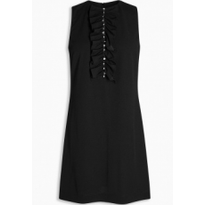 Next TBC NEXT Black Embellished Front Shift Dress 6 (414643-BLACK-6)