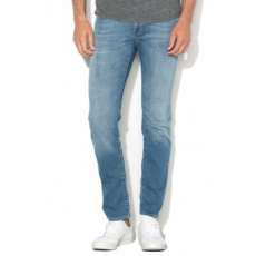 Selected Homme Mario Szűk Fazonú Világoskék Farmernadrág W33-L34 (16055140-LIGHT-BLUE-DENIM-W33-L34)
