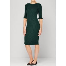 Next TBC NEXT Green Textured Dress 16 (968801-GREEN-16)