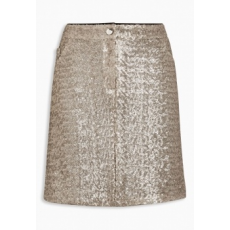 Next TBC NEXT Sequin Skirt 14 (433356-GOLD-14)