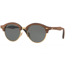 Ray-Ban Clubround Wood RB4246M 118158 Polarized