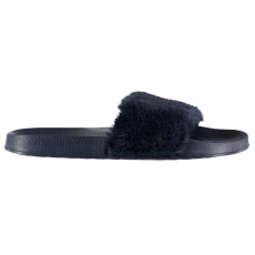 Fabric Strand papucs Fabric Fur Sliders női