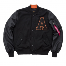 Alpha Industries COLLEGE JACKET - fekete