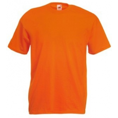 Fruit of the Loom 61-036 Valueweight T póló ORANGE S-XXL méretek 165g/m2