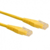 ROLINE CAT6 0.5m sárga UTP Kábel