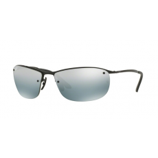 Ray-Ban RB3542 002/5L SHINY BLACK BLUE MIRROR SILVER POLAR napszemüveg