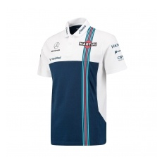 Williams F1 Team Williams Martini Racing férfi galléros póló Pique 2017 - S