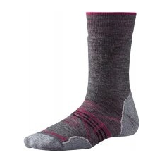 Smartwool W Phd Outdoor Medium Crew Medium Gray S