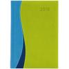 DAYLINER Dubai, A5 napi beosztású agenda, Kék-Zöld