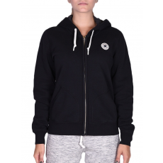 Converse Core Full Zip Hoodie női cipzáras pulóver fekete S