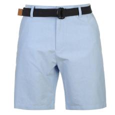 Kangol Oxford férfi rövidnadrág övvel kék XXL