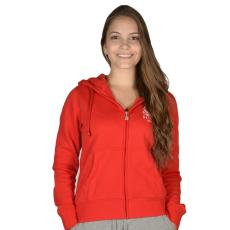 Russell Athletic Női cipzáras pulóver piros L
