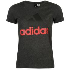 Adidas Linear QT női póló sötétszürke XL