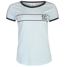 SoulCal Deluxe Baseball Strip női póló kék XS