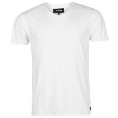 Firetrap Férfi V nyakú póló fehér S
