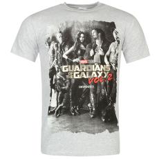 Character Guardians of the Galaxy férfi póló szürke XL