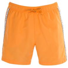 Calvin Klein Taped férfi hálós úszóshort narancs S
