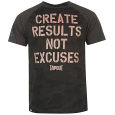Tapout Results férfi póló fekete XXL