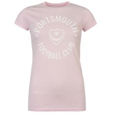 Team Pompey Graphic női póló pink S