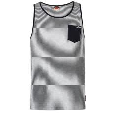 Lee Cooper Fashion férfi trikó sötétkék csíkos M