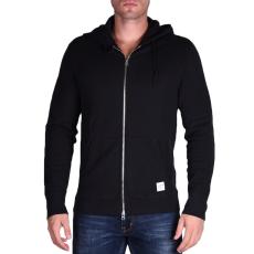 Converse Sportswear Fullzip Hood férfi kapucnis cipzáras pulóver fekete XL