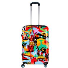 BG Berlin Lobo American Way Urbe 24 Inch - közepes bőrönd mintás 24 inch