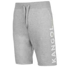 Kangol Large Logo férfi rövid melegítőnadrág szürke M