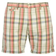 Pierre Cardin YD Check férfi kockás rövidnadrág piros M