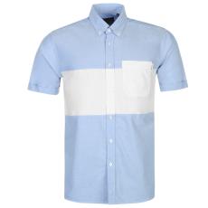 Pierre Cardin Panel férfi rövid ujjú ing kék M