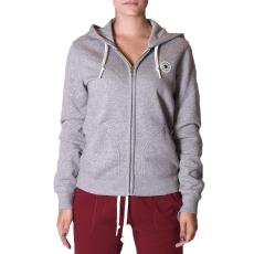 Converse Core Full Zip Hoodie női cipzáras pulóver szürke S