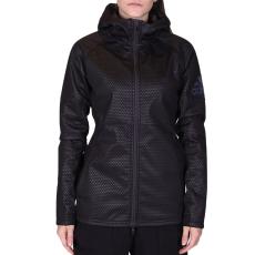 Adidas Climastorm Flc női cipzáras pulóver fekete M