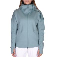 Adidas Zne Hoody Vapste női cipzáras pulóver zöld S