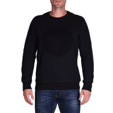 Converse Embossed Graphic Crew férfi pulóver fekete XL